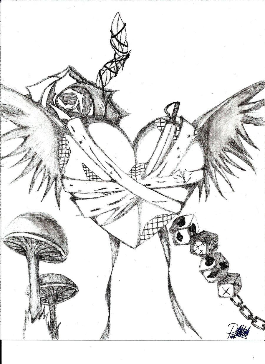 900x1238 Random Emo Drawing By Vmpnproudofit