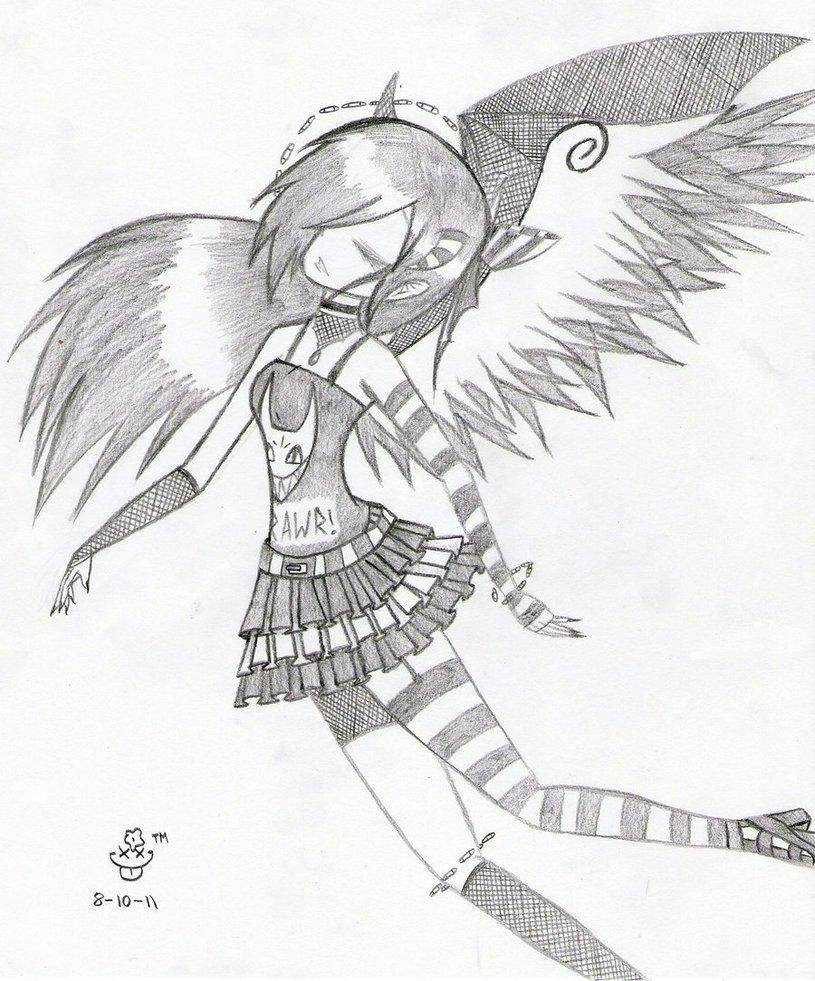 815x981 Emo Angel 2 By Jenibearx3