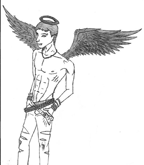 600x686 Emo Angel By Icemo
