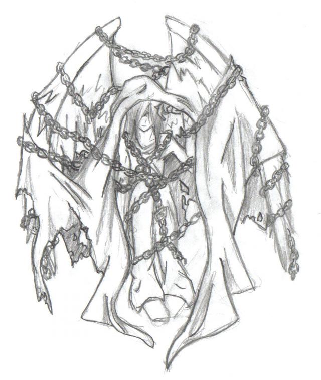 640x757 Chained Angel By Epikasia
