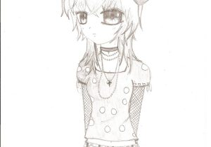 300x210 Cute Emo Anime Drawings