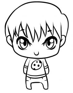 237x302 Gallery Cute Boy Drawing,