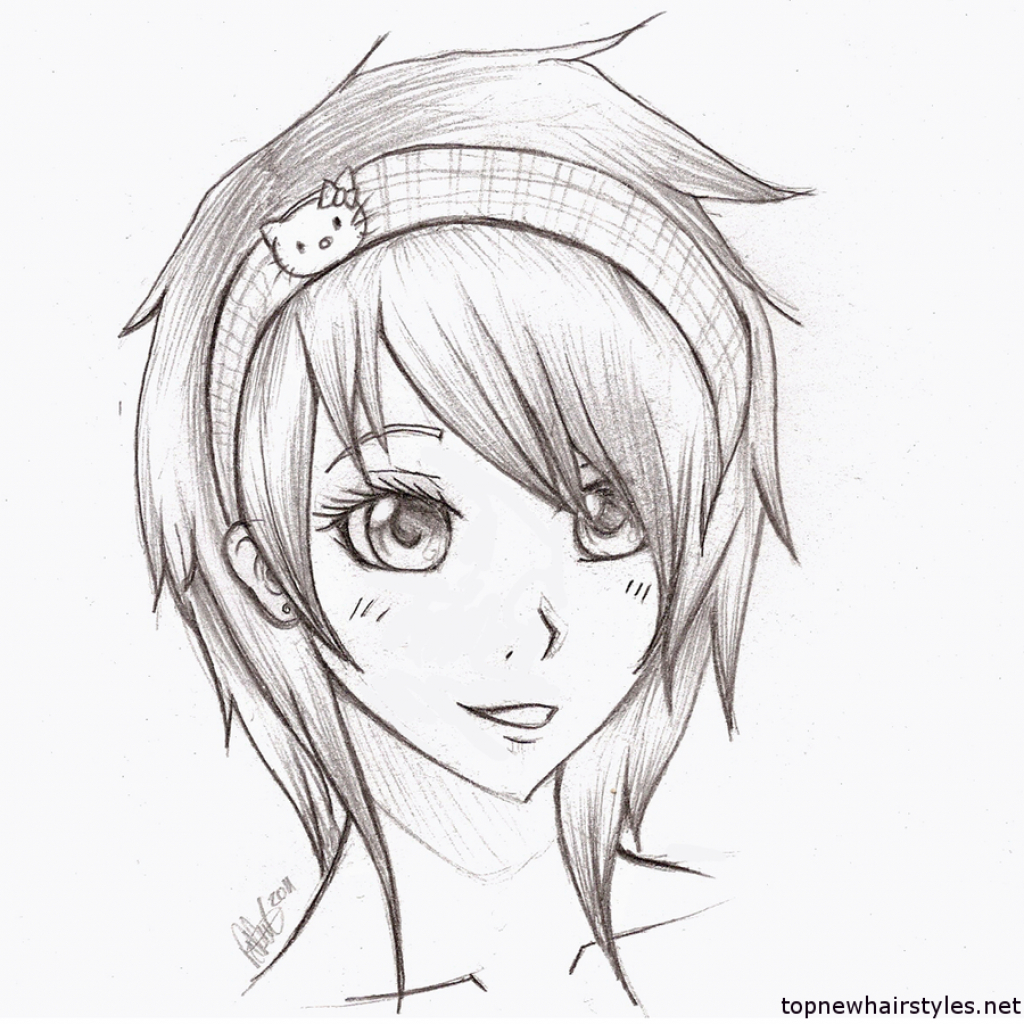 1024x1024 Sketch Girls And Boys Girls And Boys Sketches Anime Emo Girl