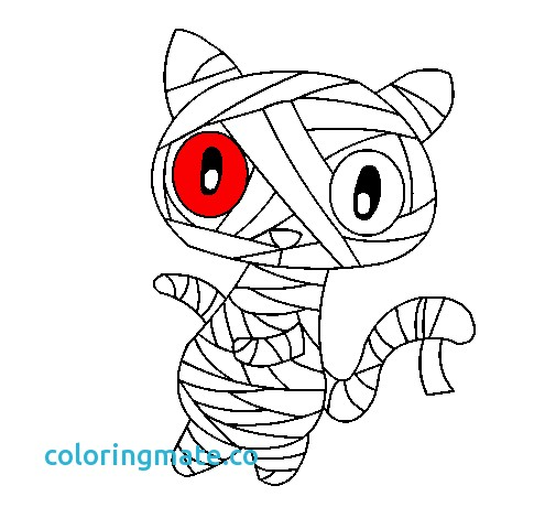 505x470 Emo Coloring Pages Unique Colored Page Doodle The Cat Mummy