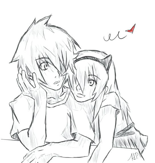 544x571 Cute Couple Coloring Pages Mayo Cute Couple Mayo Colouring Page