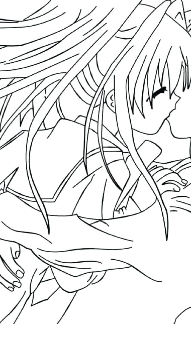 640x1136 Anime Couple Coloring Pages Anime Couples Coloring Pages Emo Anime