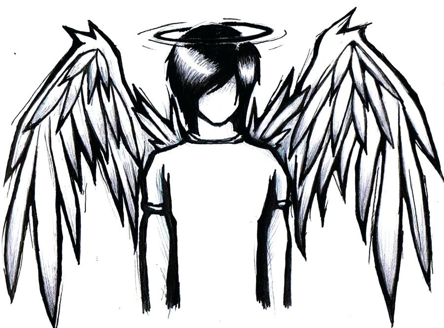 900x666 Emo Girl Coloring Pages Pin Fallen Angel Emo 2 Emo Anime Girl