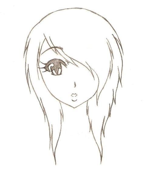 474x559 Gallery Emo Girl Drawings,