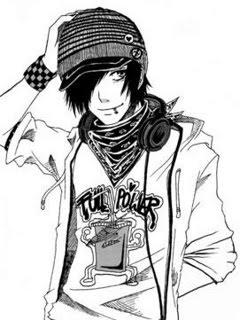 240x320 Emo Anime Boy Wallpaper