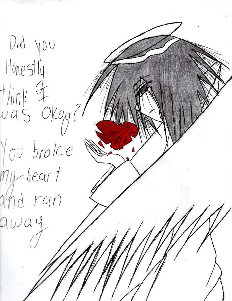 786x1017 Angel's Broken Heart By Emobuunygirl