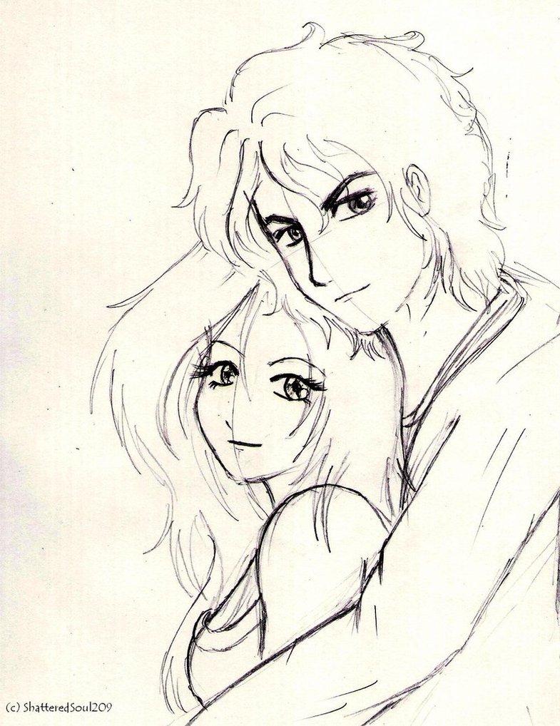 785x1018 Love Cartoon Couple Drawings Emo Love