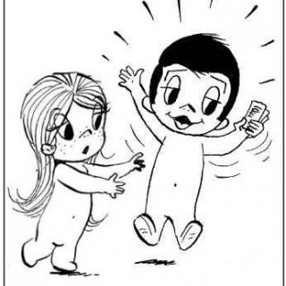 320x320 Love Is Cartoon Emo Cute Cartoons Drawings