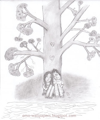 334x400 Frothniticga Easy Emo Love Drawings