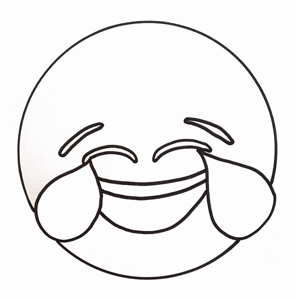 1200x1205 Emoji Coloring Pages