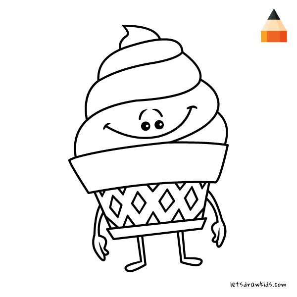 600x600 How To Draw Emojis Emoji Ice Cream Amp Devil
