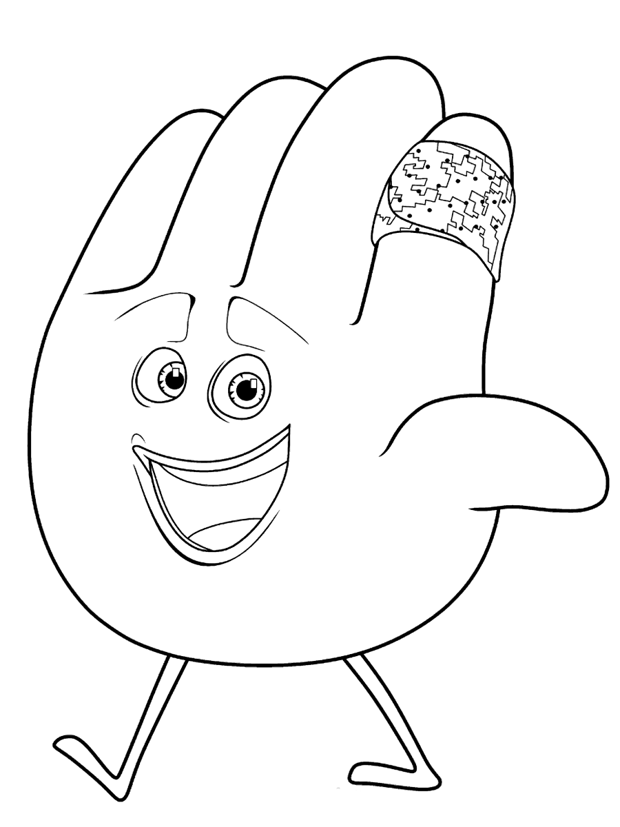 900x1200 The Emoji Movie Coloring Pages