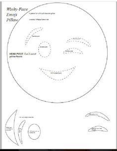 236x305 Como Hacer Almohadas De Emoticones05 Almohadones
