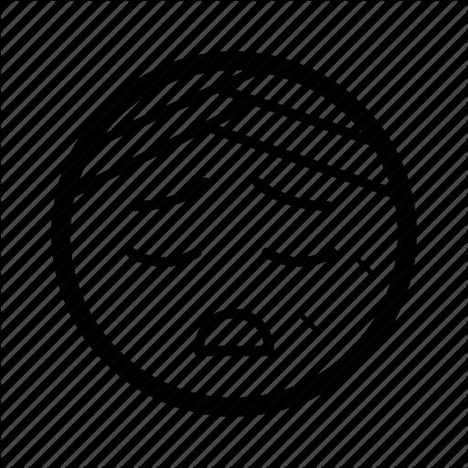 512x512 Emoji, Emoticon, Hurt, Ill, Injured, Sick, Smiley Icon Icon