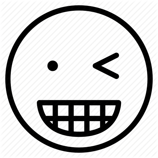 512x512 Emoticon, Emotion, Expression, Face, Grin, Mood, Smile Icon Icon