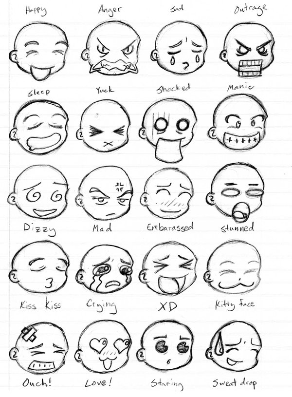 600x815 Emoticons Sheet 1 By Geomanceredg