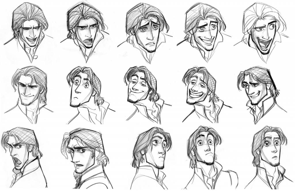 1024x662 Drawing Facial Expressions Drawing Emotional Facial Expressions