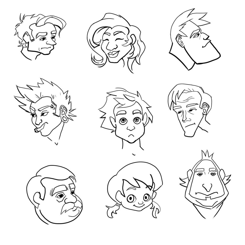 1024x1024 Coloring Pages Emotions