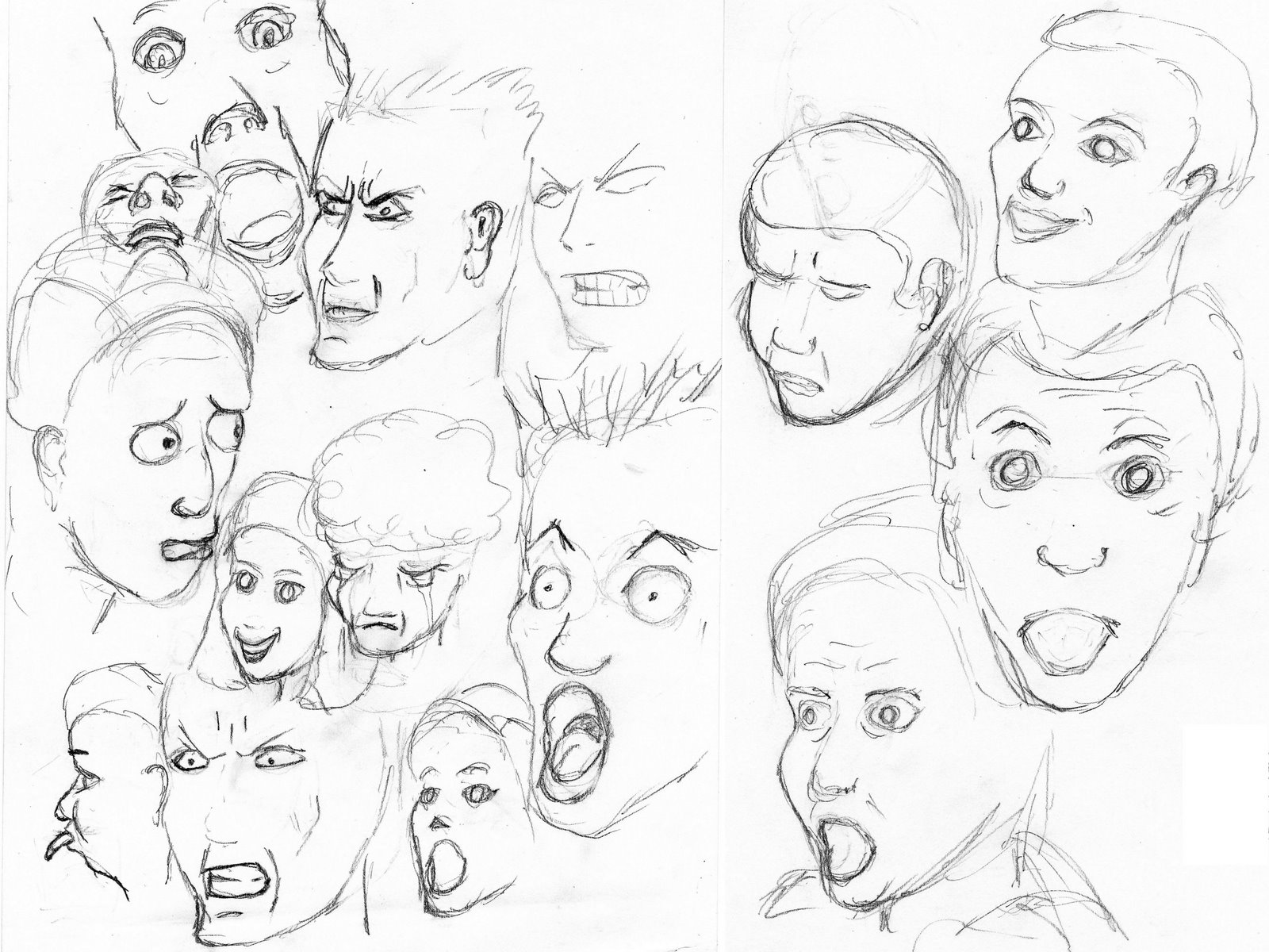 emotions drawing at getdrawings com free for personal use emotions