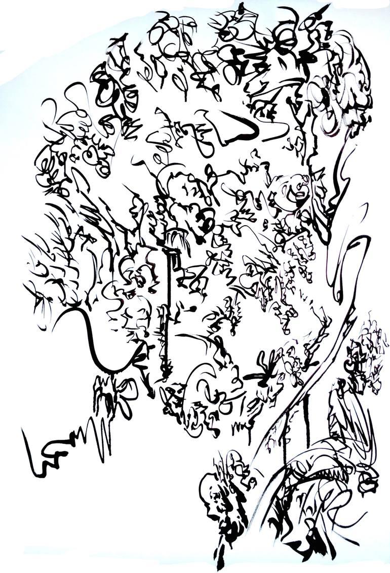 770x1132 Saatchi Art Mixed Emotions Drawing By Jakub Kreft