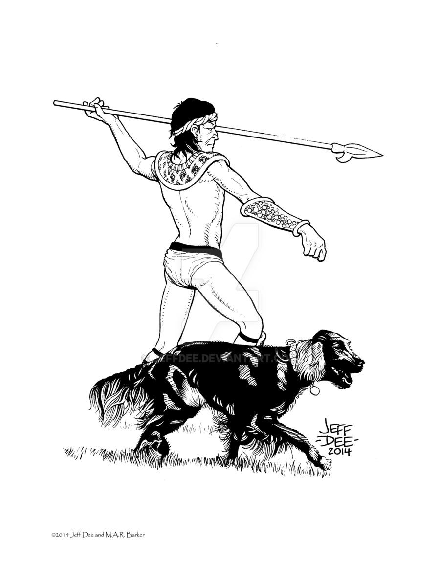 900x1165 Tekumel Bestiary Tlekku (The Dog) Empire Of The Petal Throne