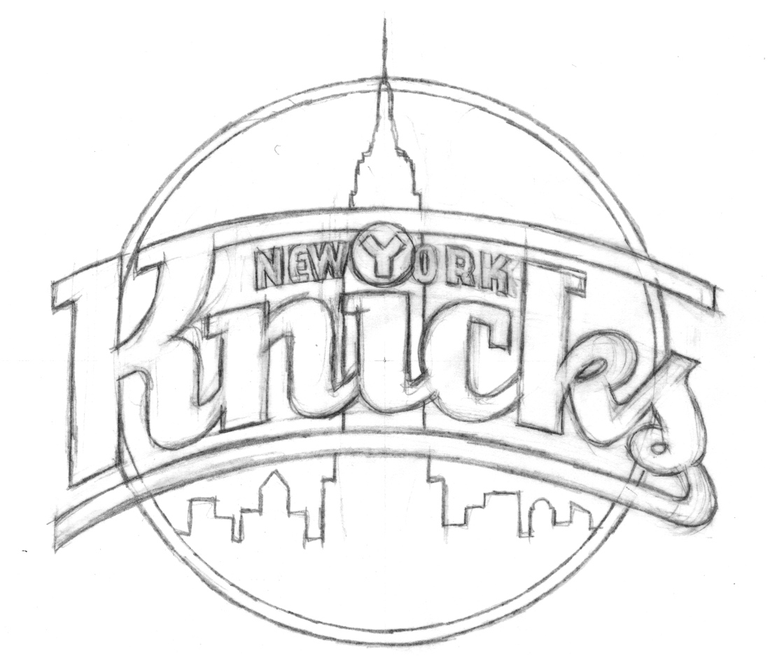 1100x953 Behind The Knicks Logo With Michael Doret Part 1