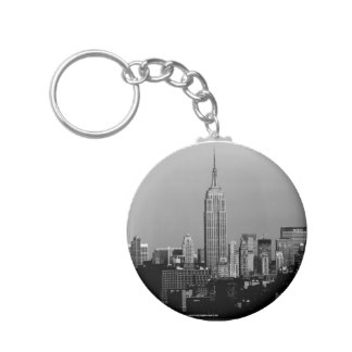 324x324 Empire State Building Keychains Zazzle