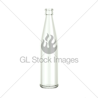 325x325 Empty Bottle For Water Or Beer Isolated Over Grey Gl Stock Images