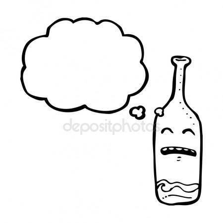 450x450 Empty Bottle Cartoon Stock Vector Lineartestpilot