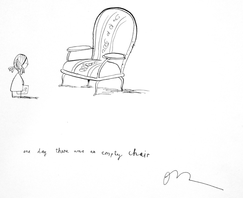 800x654 One Day There Was An Empty Chair By Oliver Jeffers