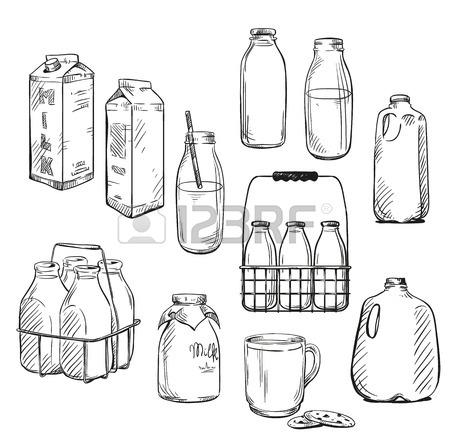 450x448 24,900 Milk Bottle Cliparts, Stock Vector And Royalty Free Milk