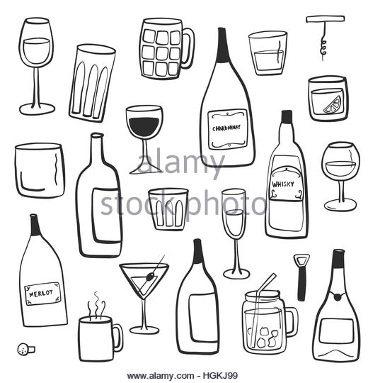 520x540 Beer Bottles Black And White Stock Photos Amp Images