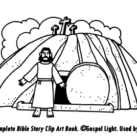 268x268 Empty Tomb Coloring Page Az Coloring Pages Coloring Page Jesus