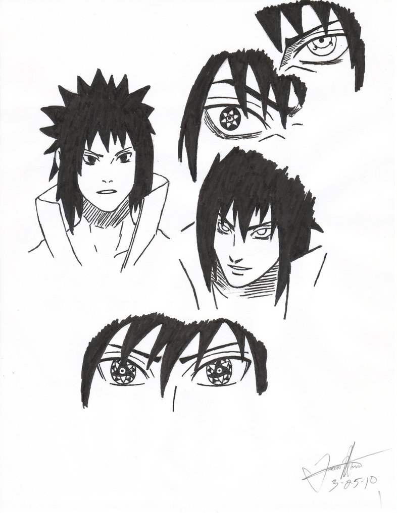786x1017 Prediction Of Sasuke's Ems By Trebball