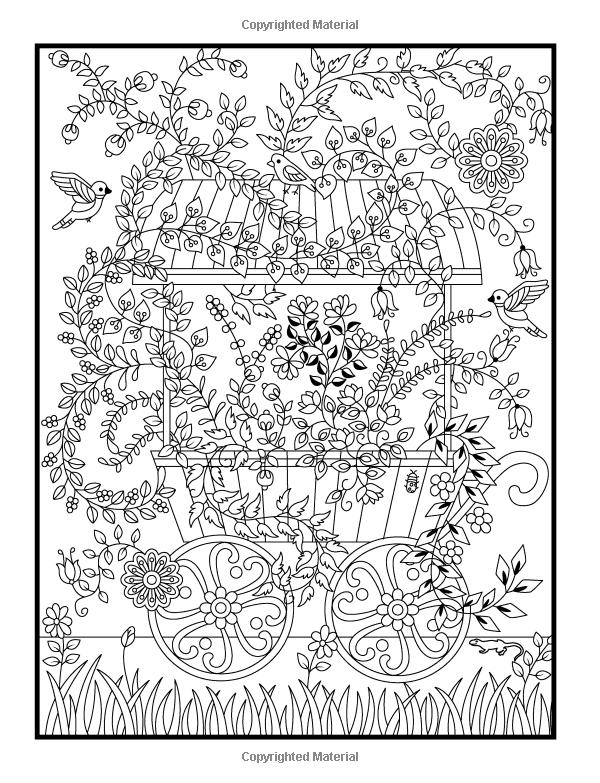 600x783 Hidden Garden An Adult Coloring Book With Secret Forest Animals
