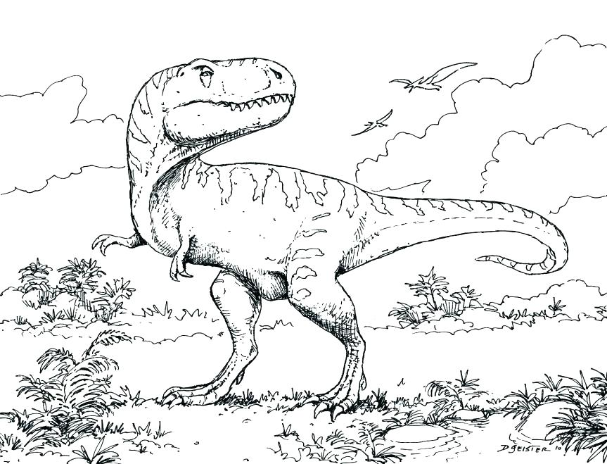 863x659 Endangered Species Coloring Pages Free Printable Dinosaur For Kids