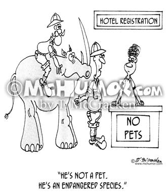 330x378 Endangered Species Cartoons