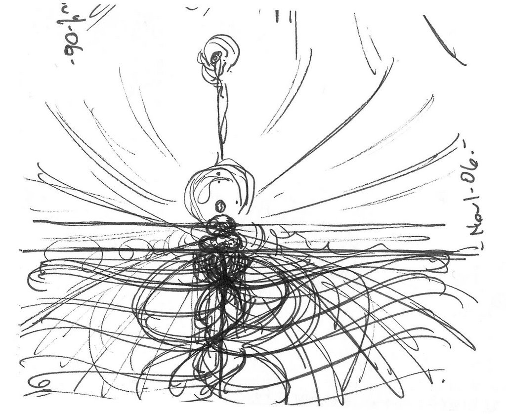 1024x838 Energy Drawing Mystery Of Existence