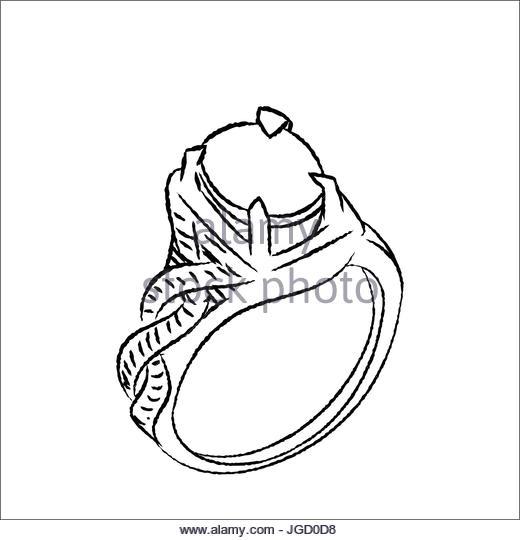 520x540 Engagement Ring Vectors Stock Photos Amp Engagement Ring Vectors