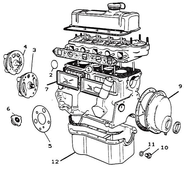 Engine Parts Drawing at GetDrawings.com | Free for personal use ...