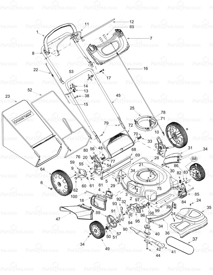 Perfect Engine Parts Drawing At Getdrawings Com Free For Personal Use Rh  Getdrawings Com Honda HRR2169VKA Lawn