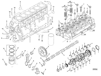engine parts drawing at getdrawings com free for personal use rh getdrawings com Cummins Engine Oil Diagram 5.9 Cummins Engine Diagram