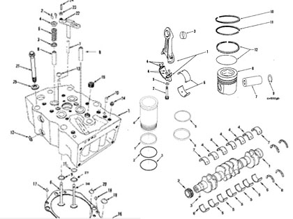 engine parts drawing at getdrawings com free for personal use rh getdrawings com Cummins 24 Valve Engine Diagram Cummins Engine Oil Diagram