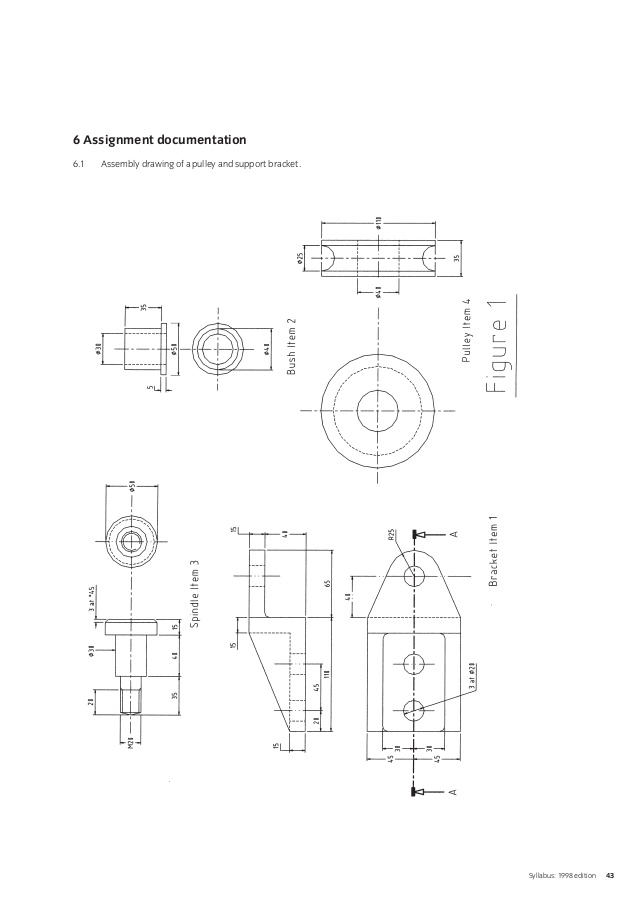 Engineering Detail Drawing