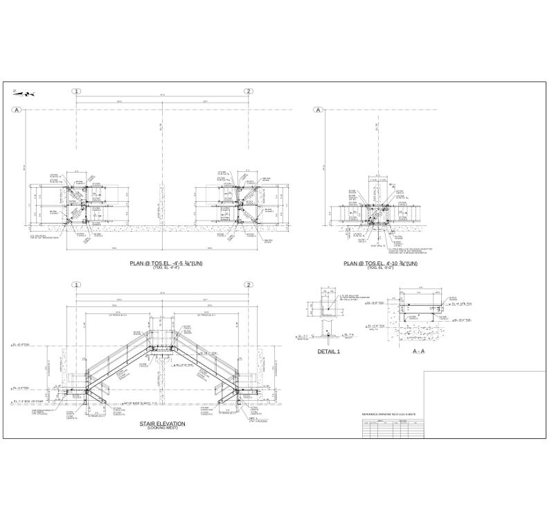800x750 Steel Shop Amp Erection Drawing Samples Gulf Atlantic Steel