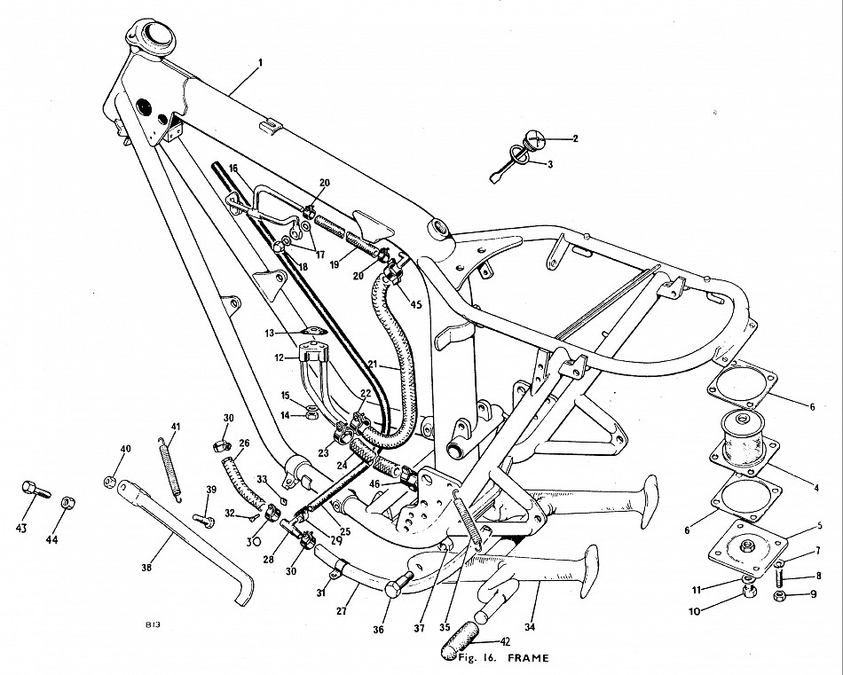 950x761 Triumph And Norton Parts Drawings